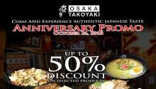 Osaka Takoyaki SM Downtown Premier Anniversary Promo FI