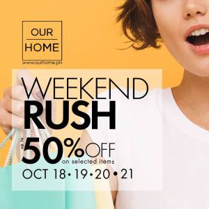 OurHome Weekend Rush