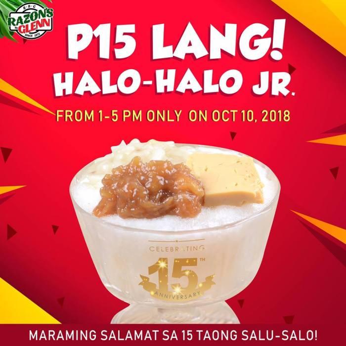 Razon's Restaurant P15 Halo-Halo