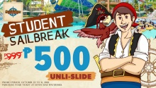 Seven Seas Waterpark Student Sailbreak Promo FI