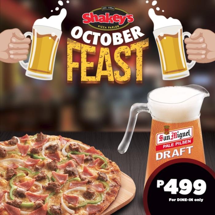 Shakey's October Feast 2018