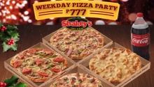 Shakey's weekday pizza 777 FI2