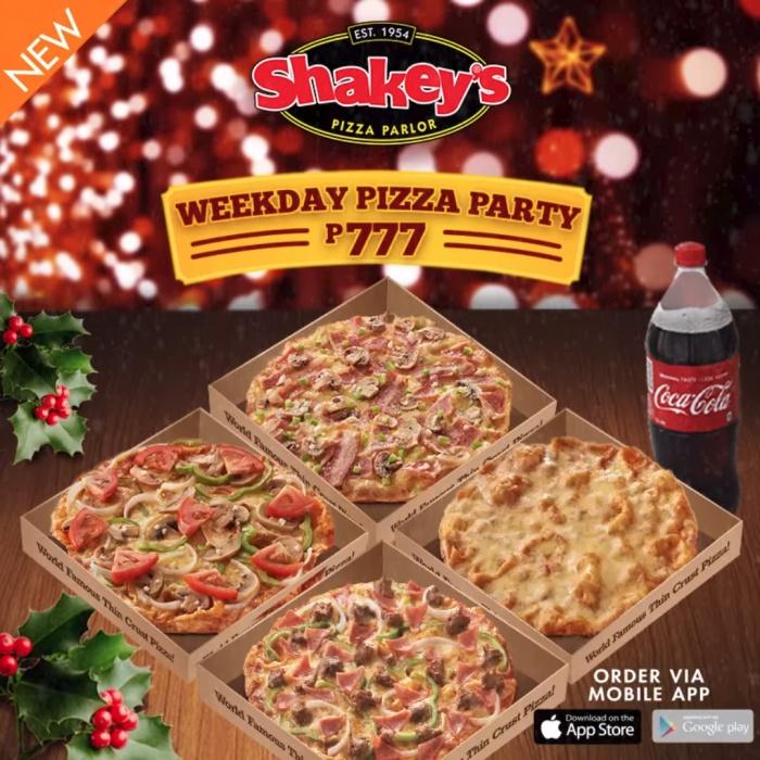 Shakey's weekday pizza 777