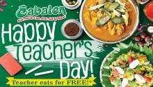 Teachers Eat for FREE at Cabalen Restaurant FI