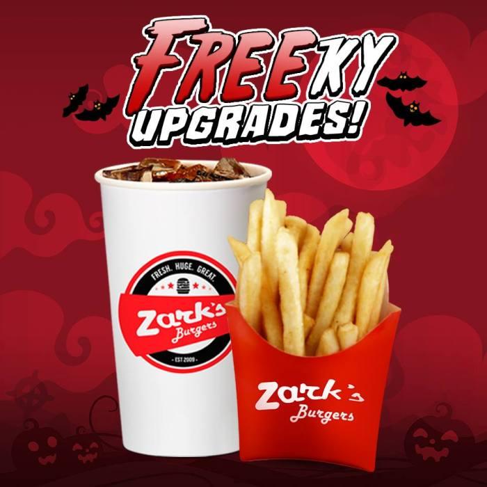 Zark's Burgers Freeky Upgrades