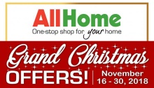 Allhome cdo grand Christmas Offers FI
