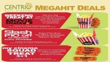 Centrio Mall Cinema Megahit Deals FI
