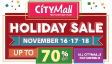 CityMall Holiday Sale FI
