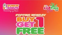 Dunkin Donuts Popping Monday FI