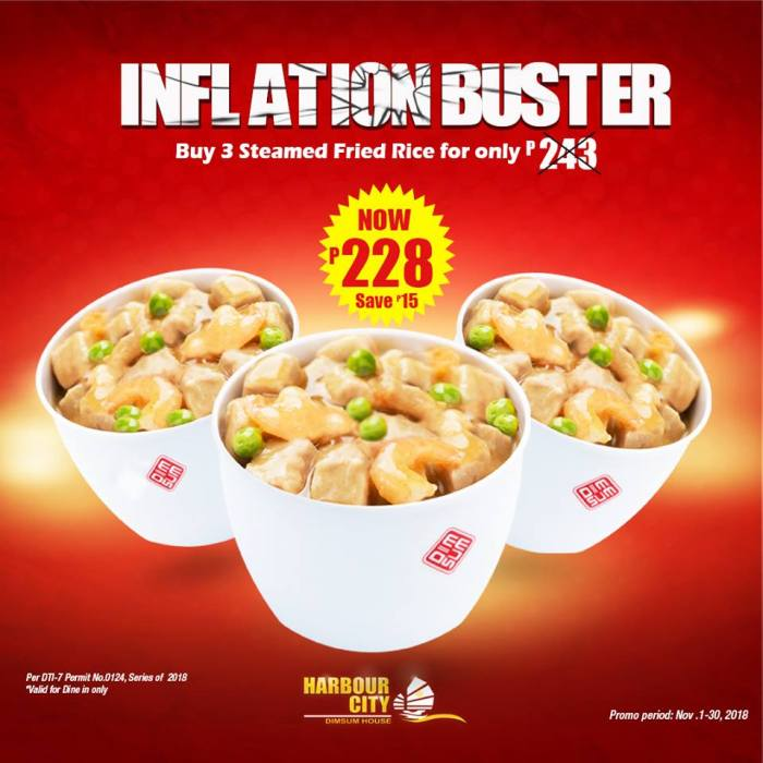 Harbour City Inflation Buster sq