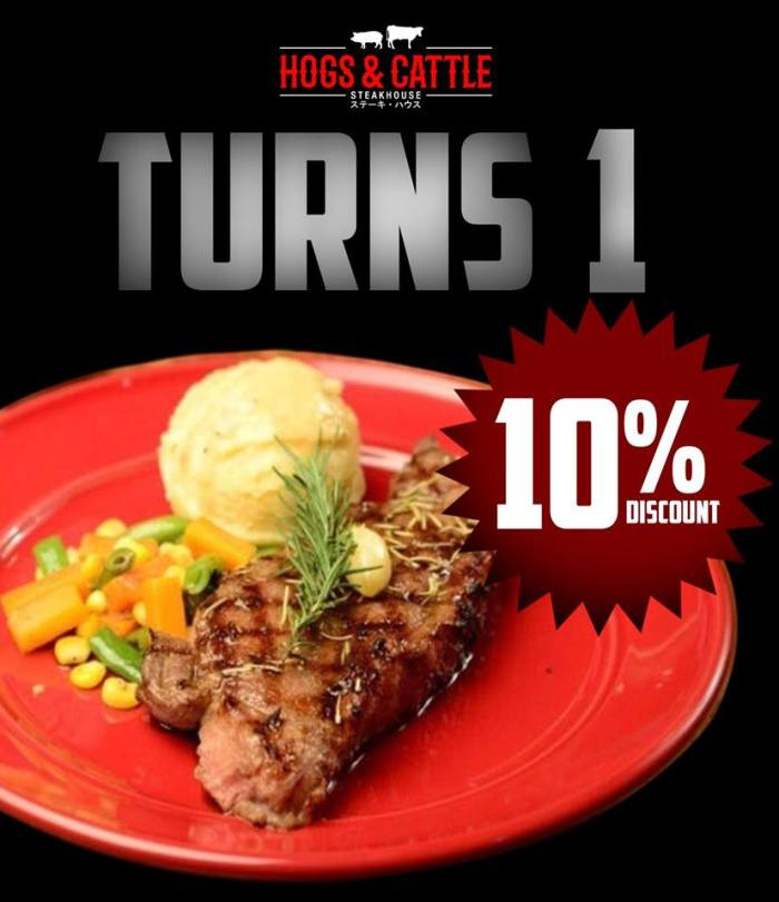 Hogs And Cattle 10% discount