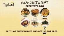 Hukad Select a Feast - FREE Tote Bag FI