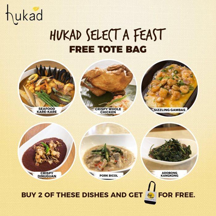 Hukad Select a Feast - FREE Tote Bag
