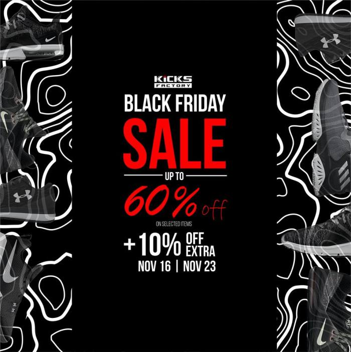 Kicks Factory Black Friday Sale