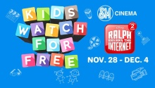 Kids watch Ralph Breaks the Internet for FREE at SM Cinemas FI