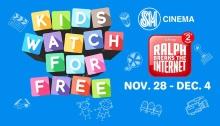 Kids watch Ralph Breaks the Internet for FREE at SM Cinemas FI