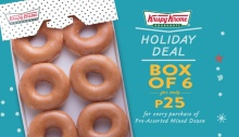krispy kreme holiday deal FI