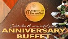 Mesa Anniversary Buffet FI