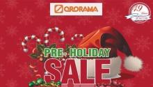 Ororama Pre-Holiday Sale FI