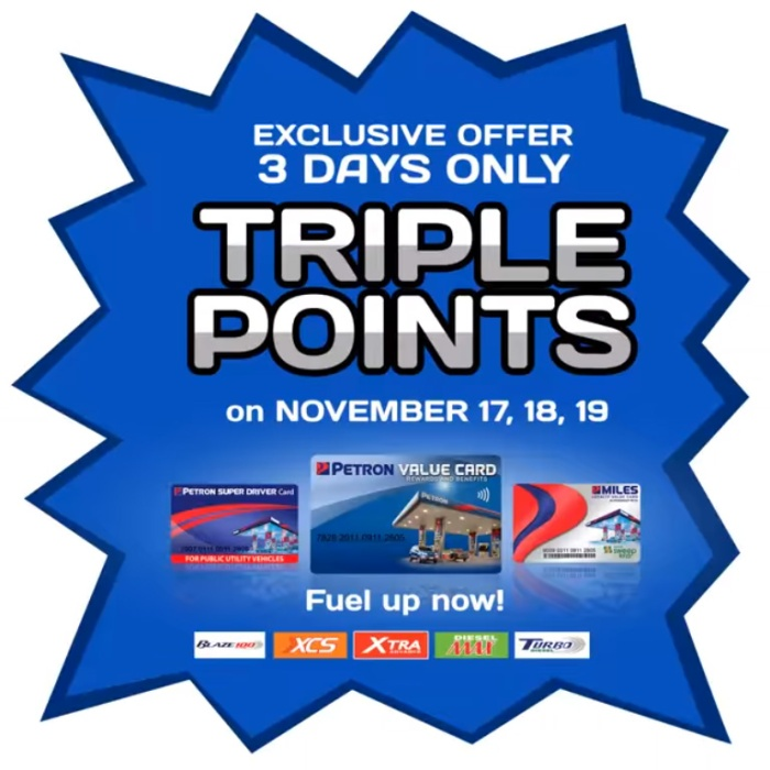 petron triple points sq