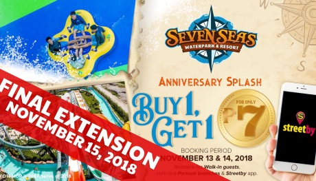 Seven Seas Waterpark 1st Yeary Anniversary Promo extended FI