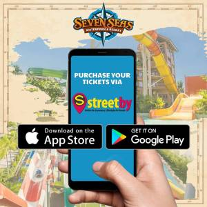 Seven Seas Waterpark 1st Yeary Anniversary Promo streetby