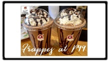 Shake and Brew Cafe Frappe for only P99 FI2