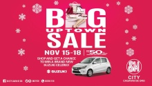 SM City CDO Big Uptown Sale FI