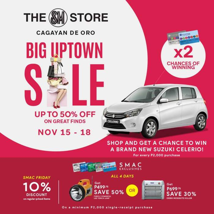 SM City CDO Big Uptown Sale