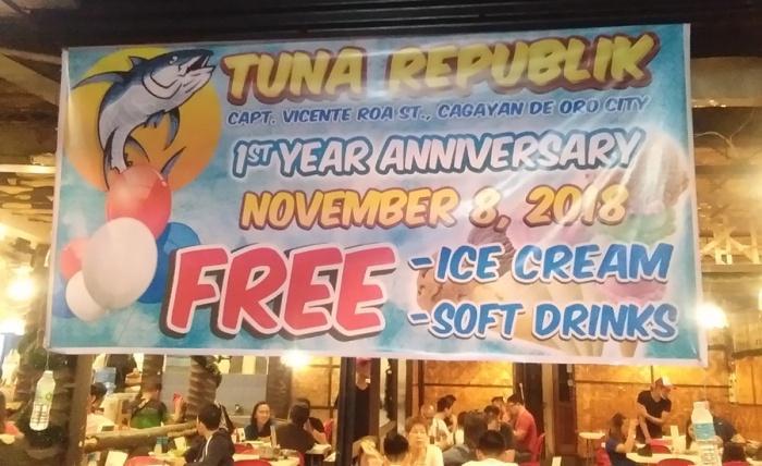 Tuna Republik 1st Anniversary