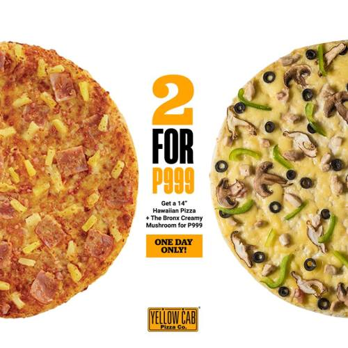 Yellow Cab 2 for 999