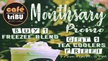 CaféTribu CDO Monthsary Promo FI