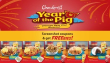 Chowking Year of the Pig Chinese New Year Blowout FI