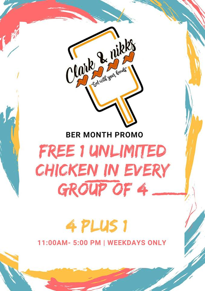 Clark and Nikks FREE 1 Unlimited Chicken Wings