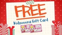 FREE Kidzooona Gift Card FI