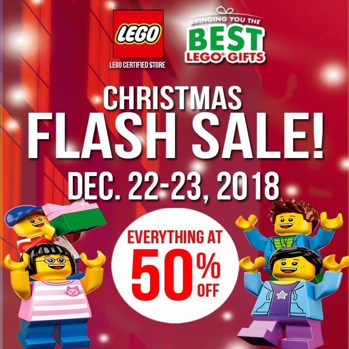 Lego Certified Store Christmas Flash Sale