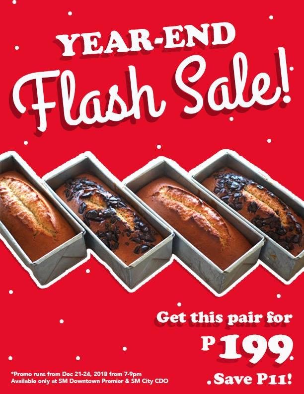 Mercedes Bakery Year-End Flash Sale Loaf