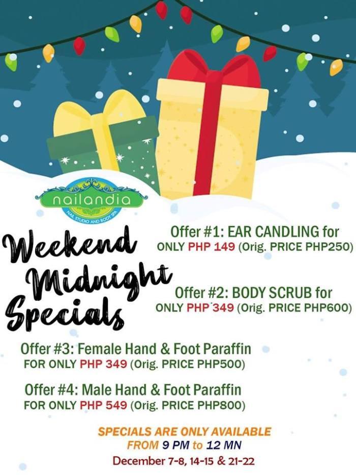 Nailandia CDO Weekend Midnight Specials