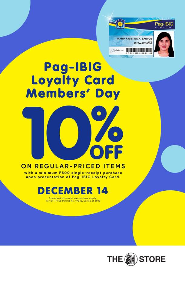 Pag-IBIG Loyalty Card Members Day