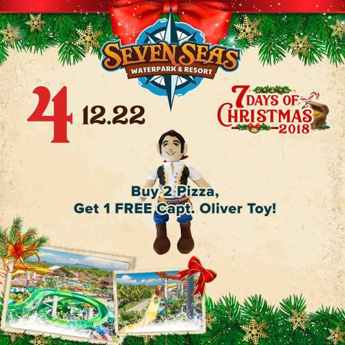 Seven Seas Day 4 Captain Oliver Toy for FREE