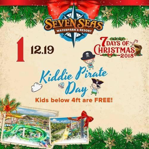 Seven Seas Kiddie Pirate Day