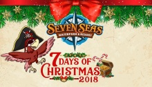 Seven Seas Waterpark 7 Days of Christmas 2018 FI