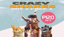The Backyard Grill Buy 1 Take 1 Crazy Shakes Christmas Blowout FI