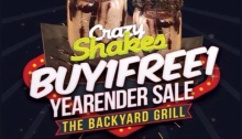 The Backyard Grill Year End Sale FI