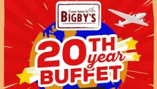 Bigbys 20th Year Buffet FI