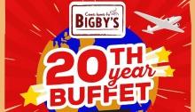 Bigbys 20th Year Buffet FI