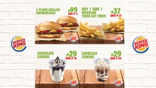 Burger King Favorites King Coupons FI