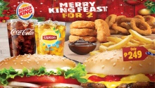 Burger King Merry King Feast for 2 FI