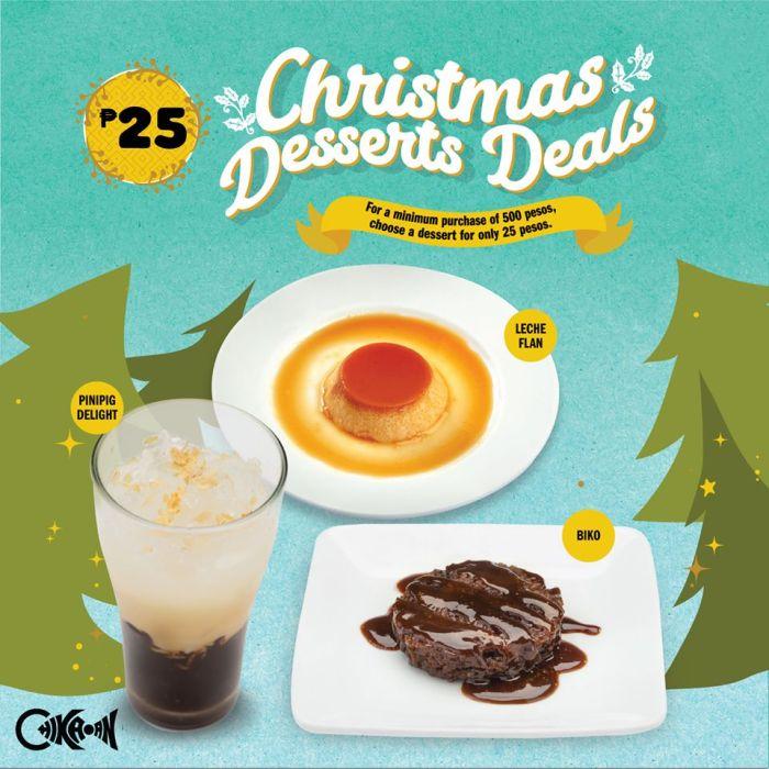 Chikaan Christmas Desserts Deals