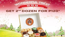 J.CO Donuts 12.12 Treat - Get 2nd Dozen for P120 FI